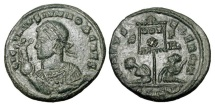 Ancient Coins - LICINIUS II, 317-324 AD.  Æ Follis.