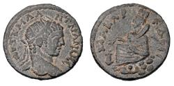 Ancient Coins - MESOPATAMIA, Edessa. Elagabalus, 218-222 AD.  Æ28.  ex Hoffman collection.