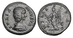 Ancient Coins - JULIA DOMNA,wife of Severus, d. 217 AD.  Æ As.  ex Hoffman collection.