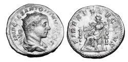 Ancient Coins - ELAGABALUS, 218-222 AD.  AR Antoninianus.