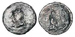 Ancient Coins - PARTHIAN EMPIRE.  Phriapatios to Mithradates I, 185-168-132 BC.  AR Hemidrachm.  Very Rare.  ex PNC collection.