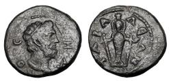 Ancient Coins - LYDIA, Tabala.  Autonomous Issue, 193-211 AD.  Æ18.