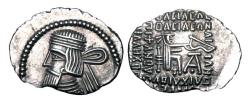 Ancient Coins - PARTHIA.  Artabanos IV, 10-38 AD.  AR Drachm.  ex PNC collection.