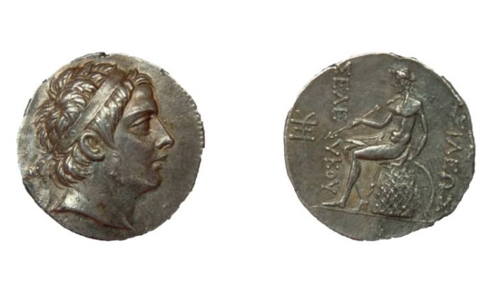 Ancient Coins - SELEUCUS III SOTER KING OF SYRIA