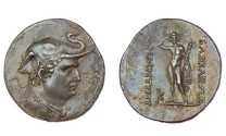 Ancient Coins - DEMETRIOS I KING OF BACTRIA