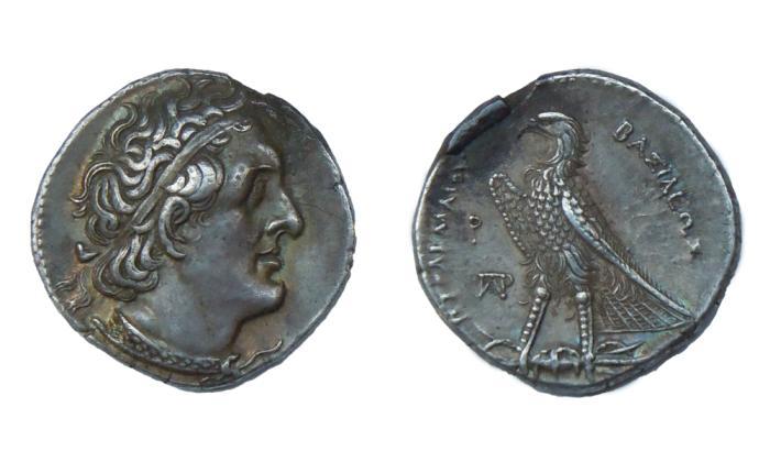 Ancient Coins - Ptolemy II Philadelphus