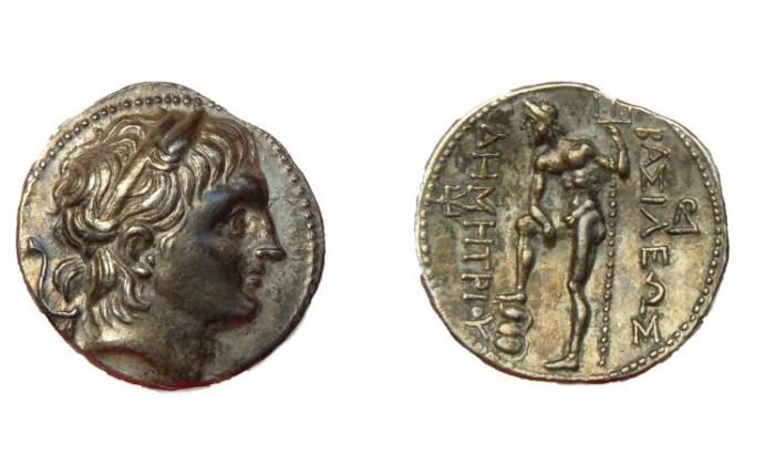 Ancient Coins - DEMETRIOS I POLIOKETES KING OF MACEDONIA