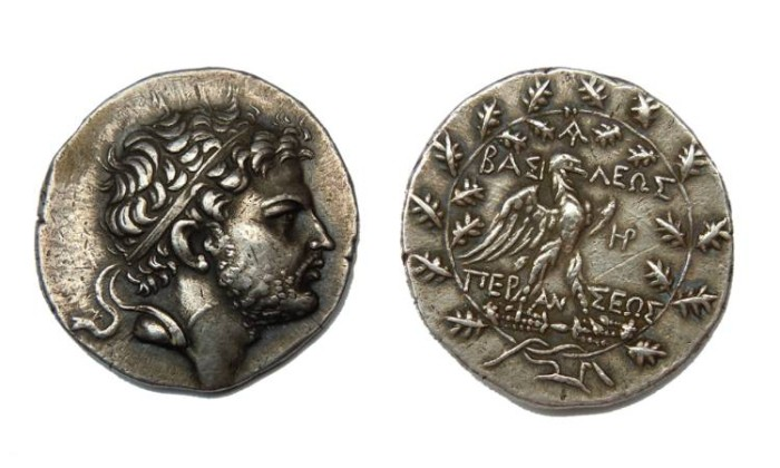 Ancient Coins - PERSEUS  KING OF MACEDONIA