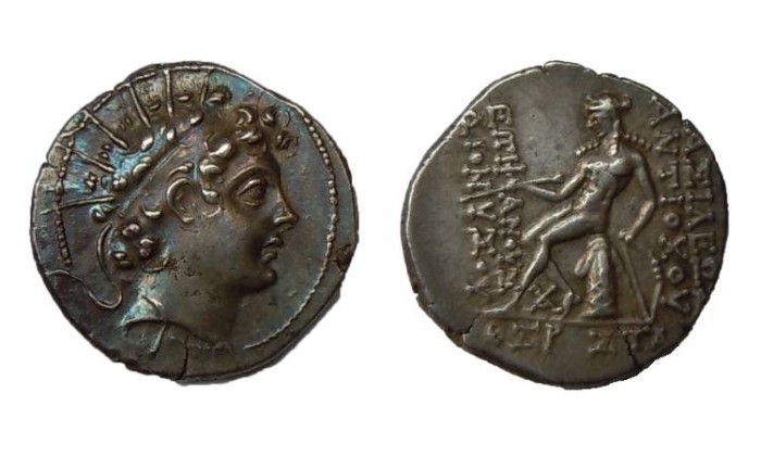 Ancient Coins - ANTIOCHOS VI KING OF SYRIA