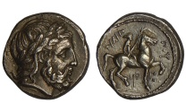 Ancient Coins - PHILIP II KING OF MACEDONIA