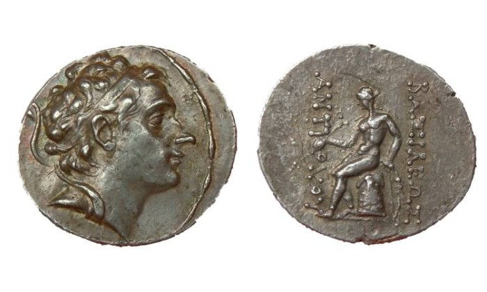 Ancient Coins - ANTIOCHOS III THE GREAT KING OF SYRIA