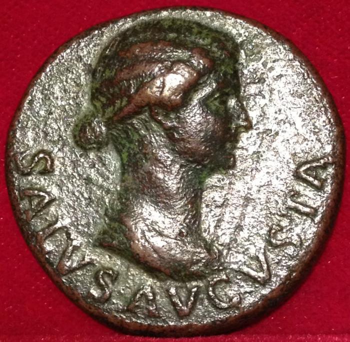 Ancient Coins - LIVIA, 22 - 32 CE
