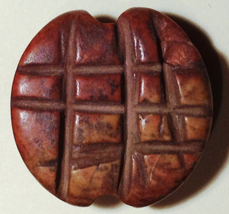 A reddish stone stamp seal 3500 3000 bc for Stampe minuscole