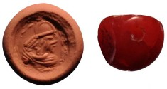Ancient Coins - A Sassanid Stone Seal, 3rd-5th century CE