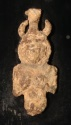 Ancient Coins - A Small Lead Bust of a Canaanite Plaque Figurine