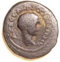 Ancient Coins - RABBATH MOBA, Elagabalus, 218 - 222 CE