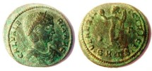 Ancient Coins - Galeria Valeria, wife of Galerius. 305-311 AD. Æ follis. Thessalonica Mint. Inverted letter!!! BARGAIN !!!