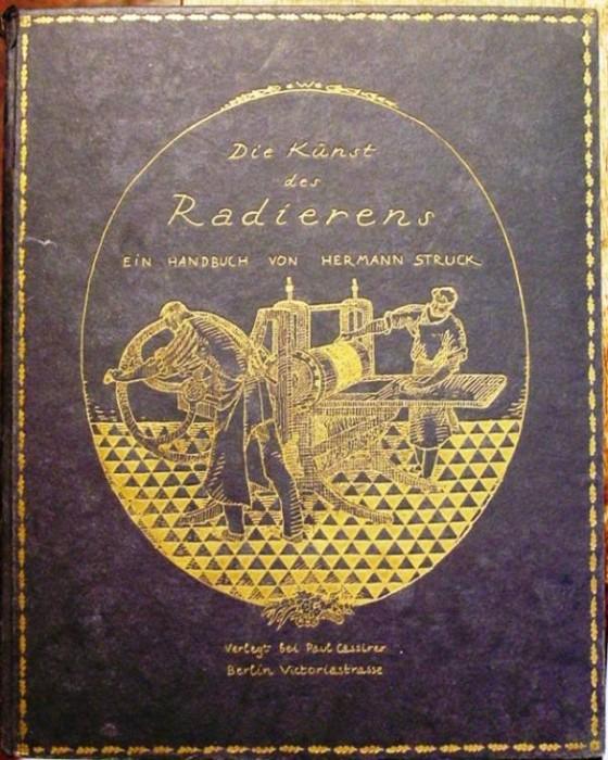 Ancient Coins - Die Kunst Des Radierens, by Herman Struck, 1919, Berlin