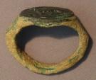 Ancient Coins - A Roman Bronze Signet Ring, 1st-3rd century CE