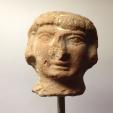 Ancient Coins - A JUDAEAN TERRACOTTA HEAD OF A FERTILITY FIGURINE (ASHERA?)