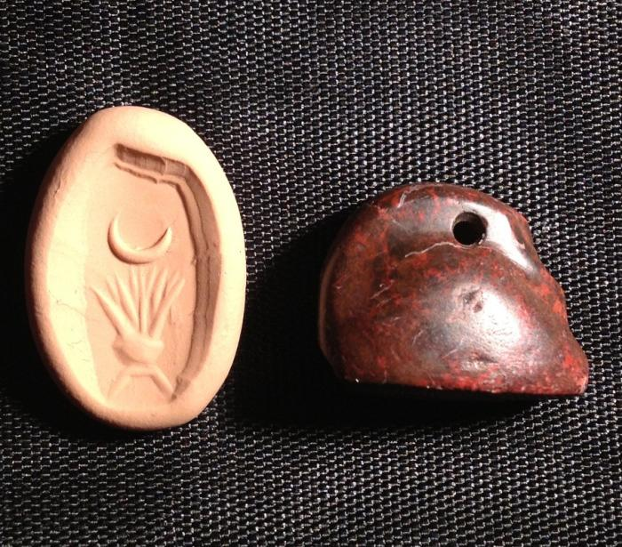 Ancient Coins - A Babylonian Seal in the Shape of a Sleeping Duck