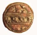 Ancient Coins - AN ARAMAIC BRONZE SEAL, 8th-7th century BC