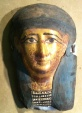Ancient Coins - STOLLEN !!! - Egyptian Gilded Mask