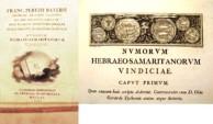 Ancient Coins - BAYER or BAYERII, Numorum Hebraea-Samaritanorum Vindiciae. Valencia (Spain) 1790 Extremely Rare