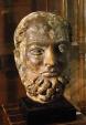 Ancient Coins - STOLEN !!! - Bronze Head, Life Size