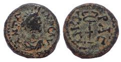 Ancient Coins - Galatia, Ankyra, Severan period. Ae 14. Rare.