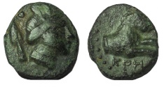 Ancient Coins - Pisidia, Kremna. Circa 1st Century BC. Æ 13