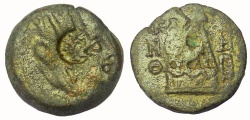 Ancient Coins - Cilicia, Tarsus: Autonomous Issue, after 164 BC.  AE 20 mm