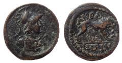 Ancient Coins - Lydien. Akrasos. Autonomous.  Ca. 3rd century AD. Very Rare.
