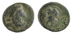 Ancient Coins - Mysia, Autokane. 3rd century BC. Æ 10