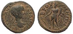 Ancient Coins - Phrygia. Bruzos . Gordian III. AD 238-244. Æ 23. Very Rare.