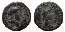 Ancient Coins - Lycaonia, Iconium. Nero. AD 54-68. Æ 19. Rare