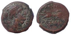 Ancient Coins - Sicily, Syracuse. Agathokles. 317-289 BC. Æ Litra