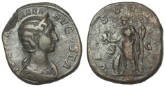 Ancient Coins - Julia Mamaea, Augusta, 222-235 AD. Æ Sestertius, Venus Reverse