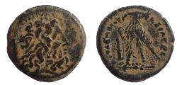 Ancient Coins - Ptolemaic Kings of Egypt. Ptolemy II Philadelphos. 285-246 BC. Æ chalkous