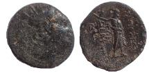 Ancient Coins - Seleukid Kings of Syria. Antiochos IV Epiphanes. 175-164 BC. Æ 21