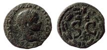 Ancient Coins - Syria, Seleucis and Pieria. Antioch. Elagabalus. AD 218-222. Æ 19