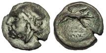 Ancient Coins - Apulia, Arpi.Circa 325-275 BC. Æ 20
