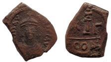Ancient Coins - Maurice Tiberius. 582-602. Æ Decanummium