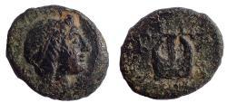 Ancient Coins - Ionia. Kolophon circa 400-350 BC. Æ 16