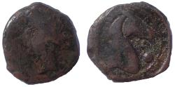 Ancient Coins - Carthage. Circa 300-264 BC. Æ19 Sardinia
