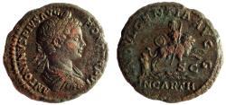 Ancient Coins - Caracalla, 198-217 Ae As, Very rare