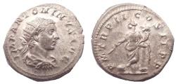 Ancient Coins - Elagabalus. AD 218-222. AR Antoninianus