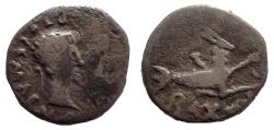 Ancient Coins - Kings of Mauretania. Ptolemy (AD 24-40). Denarius. Last of the Ptolemaic dynasty. Very Rare.