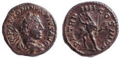 Ancient Coins - Elagabalus. AD 218-222. AR Denarius, Find patina
