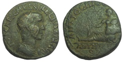 Ancient Coins - Pisidia, Antioch: Trajan Decius, 249-251 AD. Æ 23